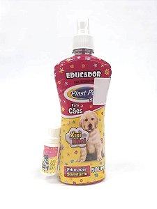 Educador Para Cães Xixi Não + Educador Xixi Sim - Plast Pet