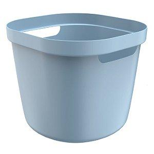 Cesto Cube Flex 28 Litros - Azul - Martiplast