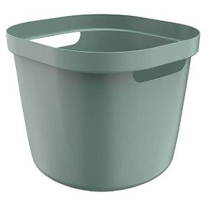 Cesto Cube Flex 28 Litros - Verde - Martiplast