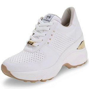 Tênis Feminino Sneaker Branco - Via Marte