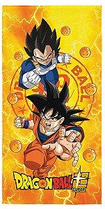 Toalha Aveludada Estampada Dragon Ball - Lepper