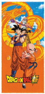 Toalha Felpuda Dragon Ball - 6148088