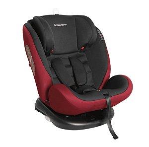 Cadeira para Carro Gaia Preto e Vinho - Galzerano