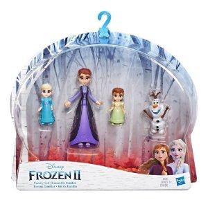 Boneca Hasbro Mini Frozen 2 Kit De Família