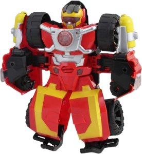 Playskool Heroes Transformers Hot Shot Eletrônico - Hasbro