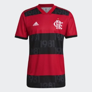 Camisa 1 CR Flamengo 21 Masculina - Adidas