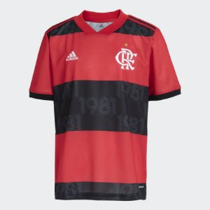 Camisa 1 CR Flamengo 21/22 Juvenil - Adidas