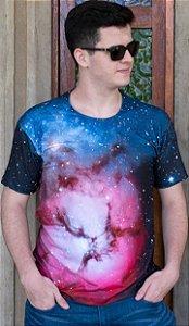 Nebulosa Trífida | Linha Nebulosa | Camiseta Astronomia