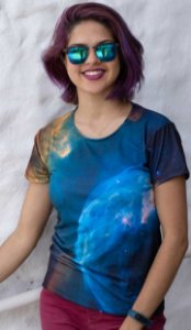 Nebulosa da Bolha | Linha Nebulosa | Camiseta Astronomia