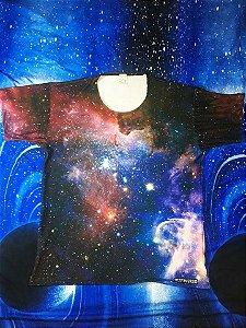Nebulosa Carina - Mais curta | OUTLET Linha Galáxia | Blusa Astronomia