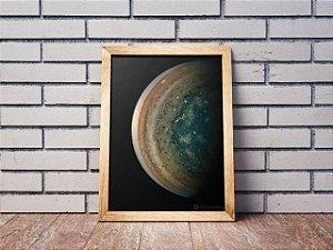 Quadro Planeta Júpiter | Loja do Astrotubers