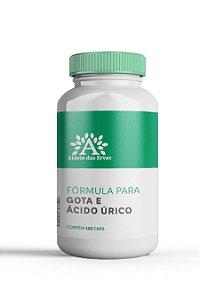 Fórmula para Gota e Ácido Úrico - Aldeia das Ervas