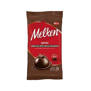 CHOCOLATE GOTAS MEIO AMARGO MELKEN HARALD - 2,1 KG