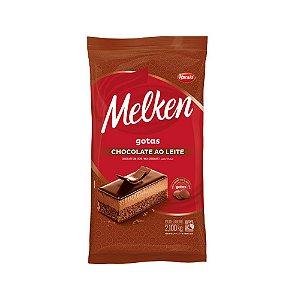 Chocolate Gotas Melken Ao Leite Harald 2,1 KG