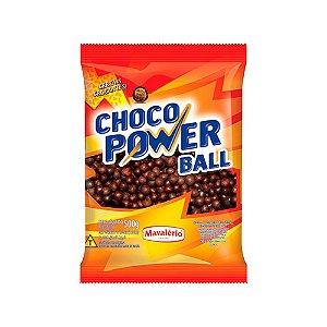 Choco Power Ball Ao Leite Mavalério 500 G