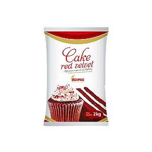 Mistura Cake Red Velvet Adimix 2 KG