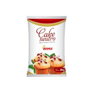 Mistura Cake Neutro Adimix 2 KG
