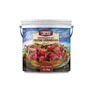 Polpa J.E.B. Frutas Vermelhas 4,1 KG