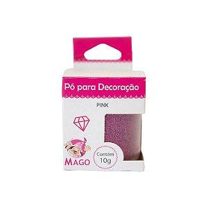 Corante em Pó Mago Brilho Pink 10 G