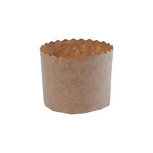 Forma Panetone 100 g Pacote com 100 Unidades