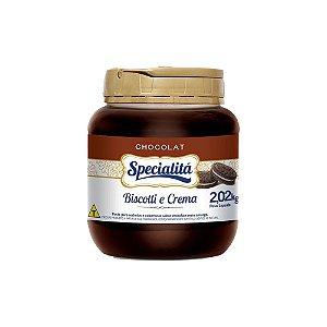 Chocolat Biscotti e Crema Meio Amargo 2,02 KG