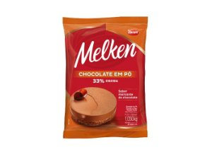 Chocolate em Pó 33% Cacau Melken 1,05kg