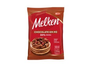 Chocolate em Pó 50% Cacau Melken 1,05kg