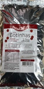 Chocolate Gotas Chip Hidrog. Salware 2,5Kg