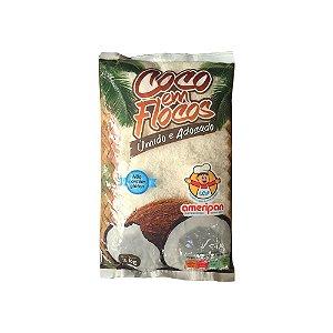 Coco em Flocos Úmido e Adoçado Ameripan 2kg