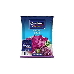 Gelatina Uva Qualimax 1kg