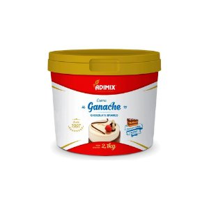 Ganache Adimix Chocolate Branco 4kg