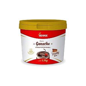Ganache Adimix Chocolate Meio Amargo 4kg