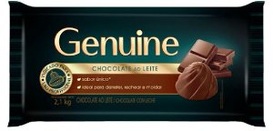 Chocolate Genuine Cargill Ao Leite 2,1kg