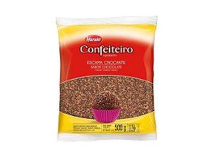 Escama Crocante Sabor Chocolate Confeiteiro 500gr