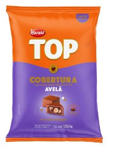 Cobertura Gotas Avelã HARALD TOP 1,05 KG