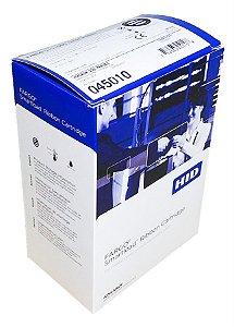 Fita Impressão Frente Color/Verso Preto YMCKOK 200 impressões p/ Fargo DTC1250e Ribbon Fargo 45010