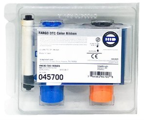 Fita Color Fargo p/ DTC5500LMX/DTC4500 YMCKO - 500 Impressões