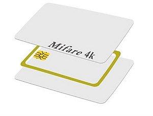 Cartão Mifare 4k - RFID  13.56 Mhz - Pacote com 100 unidades