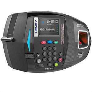 Relógio De Ponto Prisma Super Facil Adv - Biometria Vermelha