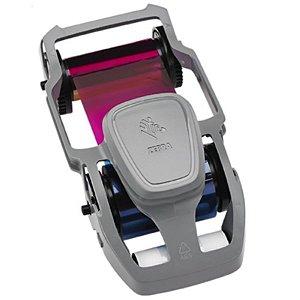 Ribbon Color YMCKO Zebra 200 Impressões 800300-250BR ou 800300-350BR