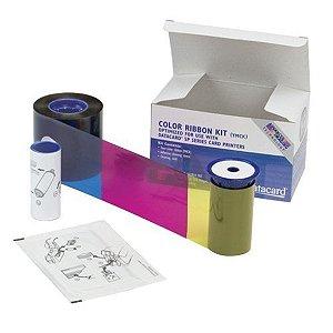 Fita de Impressão Color (YMCKT)  p/ SD260 / 360 (500 impressões) - (Ribbon Datacard cod.534000-003)