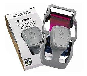 Ribbon Color Zebra P/ Zc300 - 200 Impressões - 800300-264br