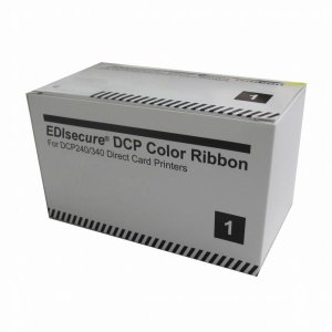 Ribbon Color YMCKO para DCP da Matica/Edisecure - 500 impressões - DIC10201
