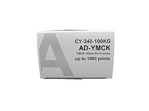 Ribbon Color YMCK P/ Impressora S30D CY-340-SID