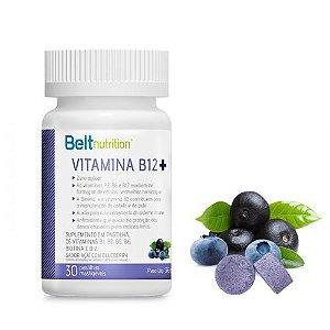 Belt Vitamina B12 - 30 Pastilhas Mastigáveis de Açaí com Blueberry