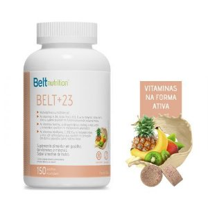 Belt +23 - 150 Pastilhas Mastigáveis sabor Smoothie de Frutas