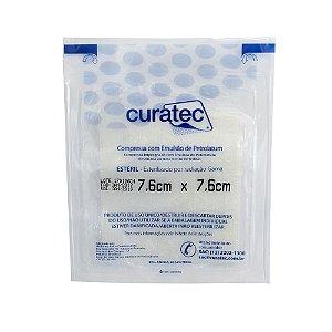 Compressa com Emulsão de Petrolatum - Curatec (7,6x7,6)