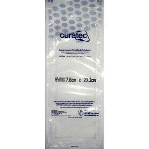 Compressa com Emulsão de Petrolatum Curatec - 3 Unidades (7,6x20,3)
