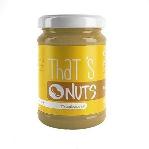 Pasta de Amendoim That's Nuts - Tradicional - 350g