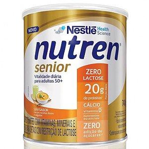 Nutren Senior Zero Lactose - Sem Sabor - 740g